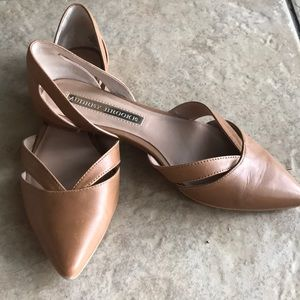 Audrey Brooke Flats Size 6 1/2 Tan / Brown